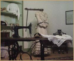 Dressmaker's Shop Exhibit